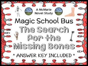 The Search for the Missing Bones (Magic School Bus) Novel Study / Comprehension