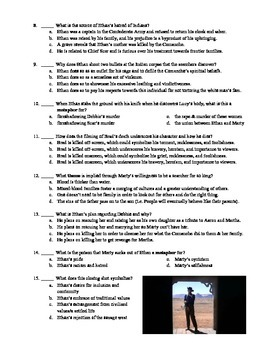 The Searchers Film (1956) 15-Question Multiple Choice Quiz