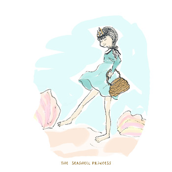 The Seashell Princess  (narrated musical story for creative movement)