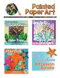 Science & Art: Starfish, Sea Shells, and Tropical Palm Trees