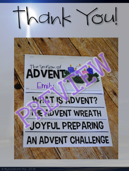 The Season of Advent {A Flip Book}