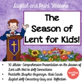 The Season of Lent: Presentation, Organizer, and Task Cards