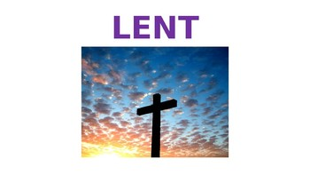 The Season of Lent for all ages
