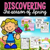 The Season of SPRING Research Unit with PowerPoint for K-1 and special education