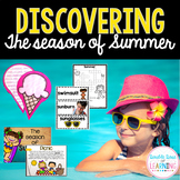 The Season of SUMMER Research Unit with PowerPoint for K-1 and special education