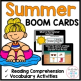 The Season of Summer BOOM CARDS™ for Distance Learning (di