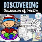 The Season of WINTER Research Unit with PowerPoint for K-1 and special education