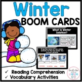 The Season of Winter BOOM CARDS™ for Distance Learning