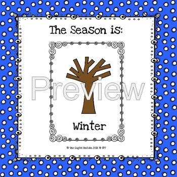 The Seasons Anchor Charts & PECS Lapbook