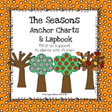 The Seasons Anchor Charts & PECS Lapbook
