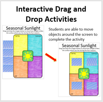 The Seasons  - Digital Interactive Notebook Pages