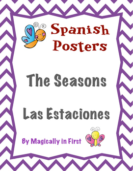 The Seasons / Las estaciones Posters!