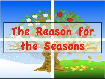 The Seasons-PPT presentation with review Q's- 60 slides