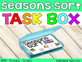 The Seasons Sort Task Box {individual task box}