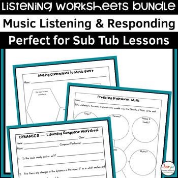 The Seasons Themed Listening Activities Bundle