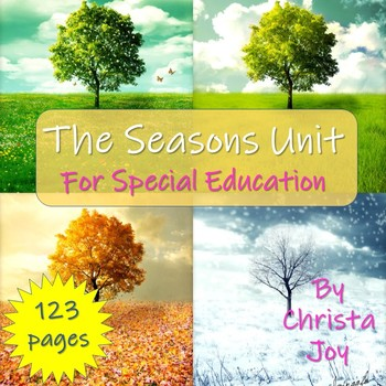 The Seasons Unit for Special Education