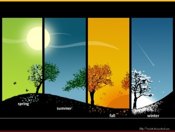 The Seasons and Diffused Light