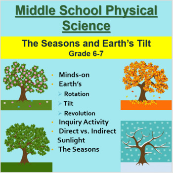 The Seasons and Earth's Tilt - A Grade 6-7 Middle School Lesson
