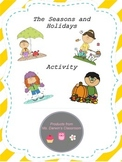 The Seasons and Holidays - Activity