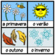 The Seasons in Portuguese Posters and Printables