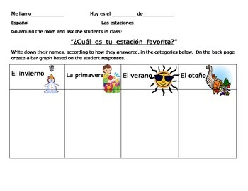 The Seasons in Spanish