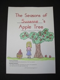 The Seasons of ______'s Apple Tree Theme Book