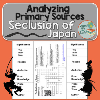 The Seclusion of Japan Primary Source Analysis