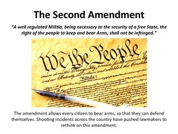 The Second Amendment Vocabulary Slideshow