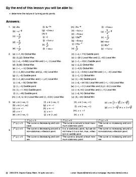 Differentiation -- The Second Derivative