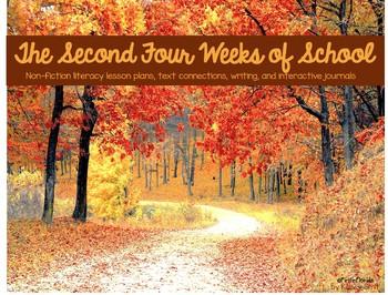 The Second Four Weeks of School **Growing Bundle**