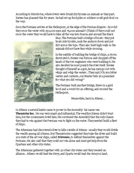 The Second Persian War Story Notes