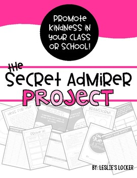 The Secret Admirer Project (a Valentine writing activity)