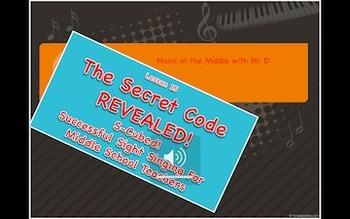 S-Cubed! The Secret Code-REVEALED! Part 2  Lesson 15 Succe