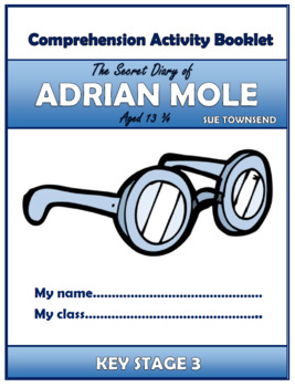 The Secret Diary of Adrian Mole Comprehension Activities Booklet!