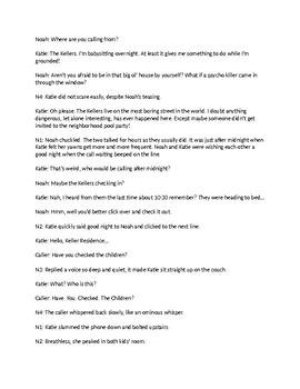 The Secret Door Reader's Theatre Script