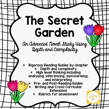 The Secret Garden Advanced Novel Study