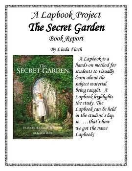 The Secret Garden Book Report and Lapbook