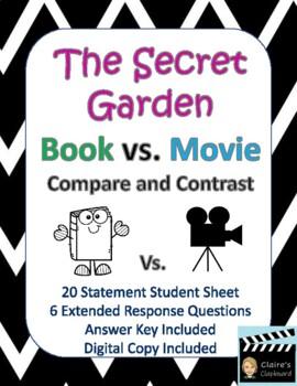 The Secret Garden Book vs. Movie (1993 version) Compare and Contrast