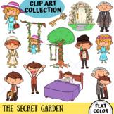 The Secret Garden Clip Art (FLAT COLOR ONLY)