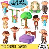 The Secret Garden Clip Art (FULL COLOR ONLY)