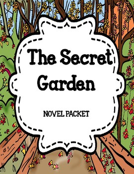 The Secret Garden - Comprehension and Vocabulary Novel Study Unit
