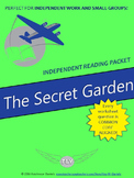 The Secret Garden (F. H. Burnett) Independent Reading/Small Group Packet