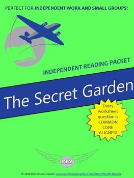 The Secret Garden (F. H. Burnett) Independent Reading/Small Group Packet