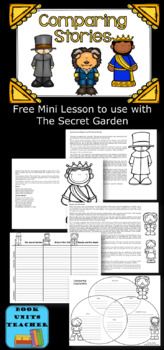 The Secret Garden Novel Study: vocabulary, comprehension, writing