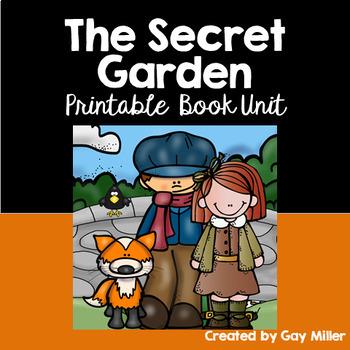 The Secret Garden Novel Study: vocabulary, comprehension, writing