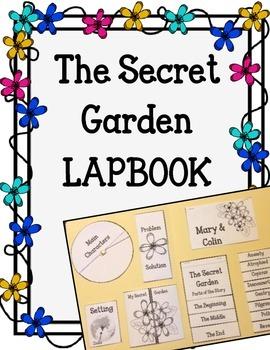 The Secret Garden Lapbook.  Interactive Notebok.  Writing Activities and Prompts
