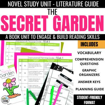 The Secret Garden Novel Study Unit