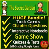 The Secret Garden Novel Study Printable AND Google Paperless Secret Garden Test