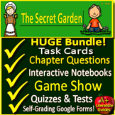 The Secret Garden NOVEL STUDY Distance Learning: Printable + SELF-GRADING GOOGLE