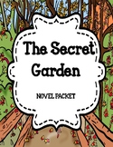 The Secret Garden by Frances Hodgson Burnett - Novel Unit Mega Bundle